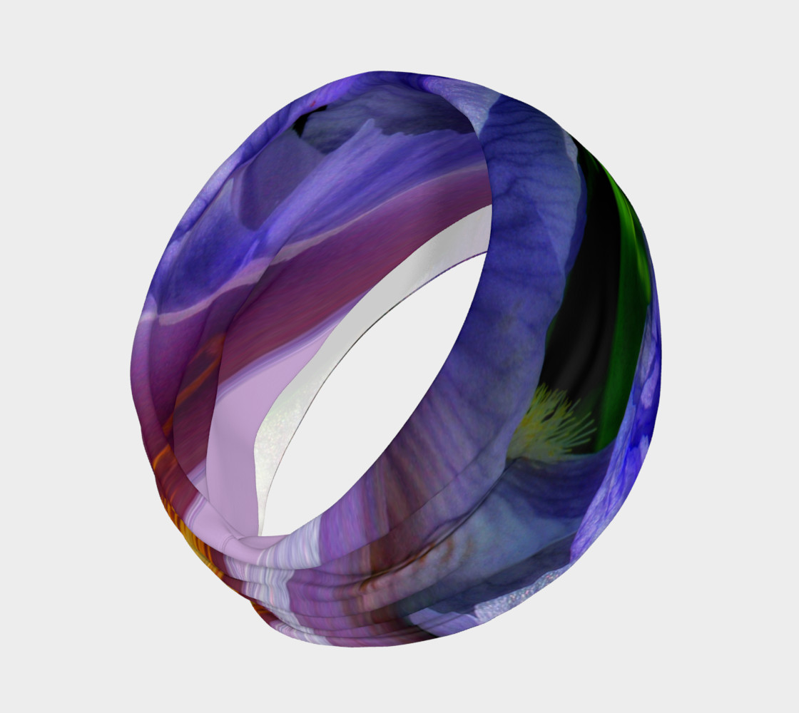 Aperçu de Iris Orb Tie Dye Effect Headband #2