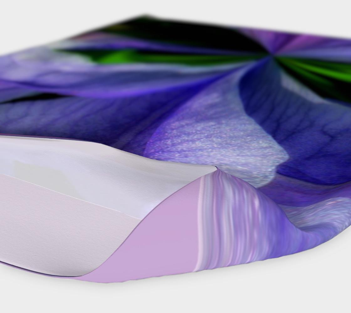 Aperçu de Iris Orb Tie Dye Effect Headband #4