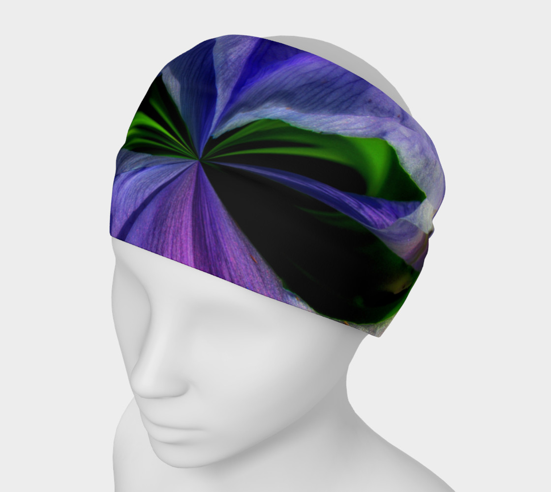Aperçu de Iris Orb Tie Dye Effect Headband #1