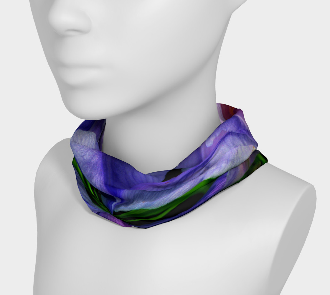 Aperçu de Iris Orb Tie Dye Effect Headband #3
