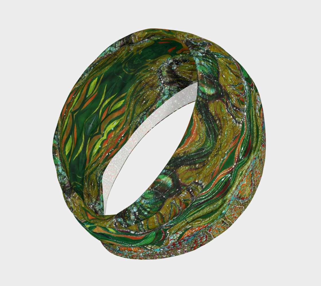 Green Horse headband preview #2