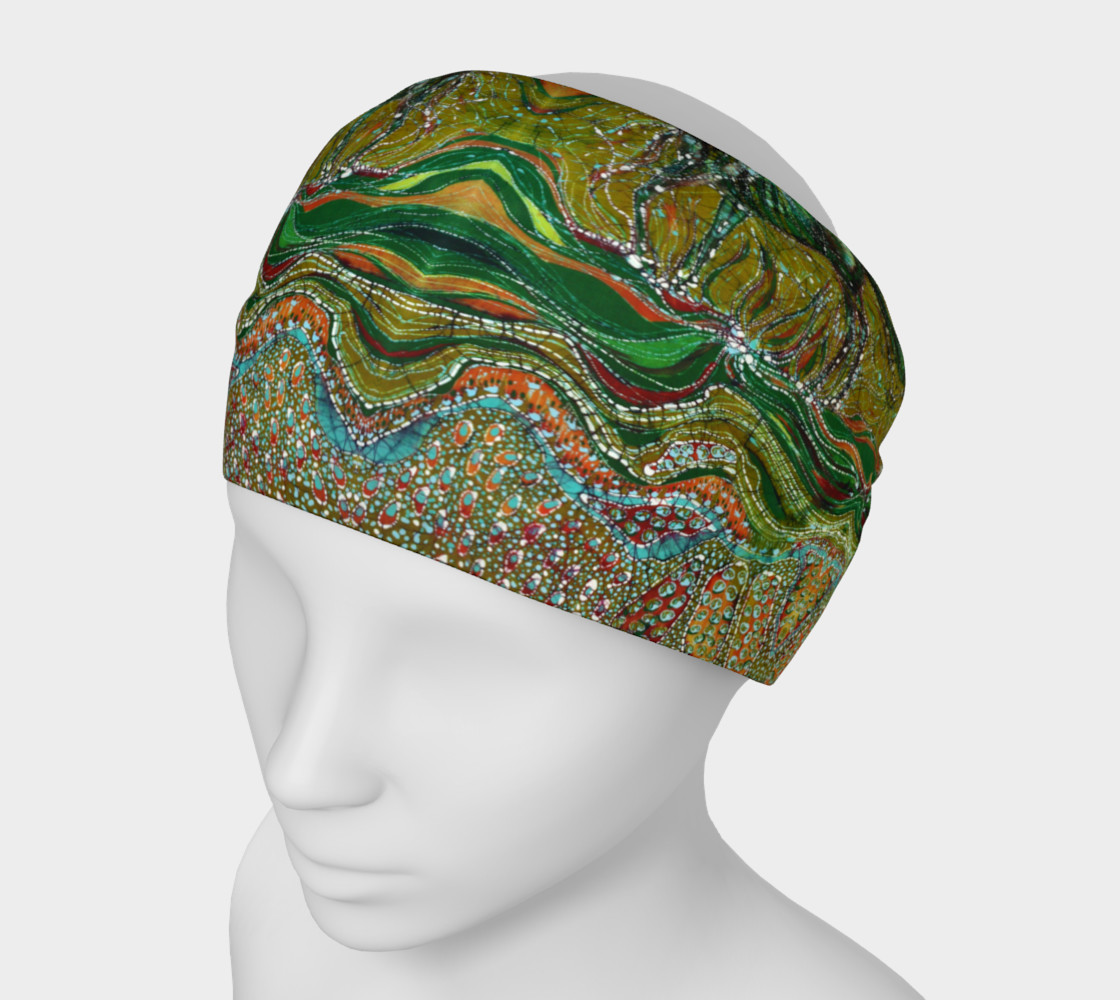Green Horse headband preview #1