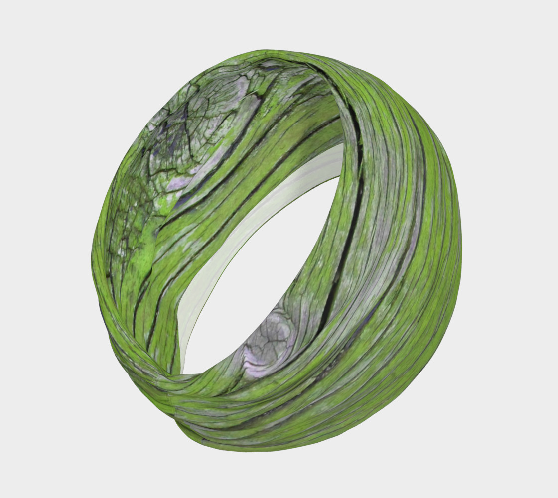 Wood Knot in Bright Green preview #2