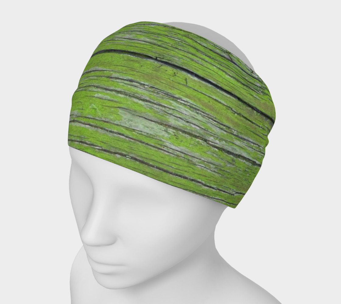 Wood Knot in Bright Green preview #1