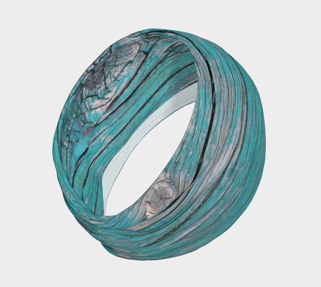 Wood Knot in Turquoise Headband preview #2