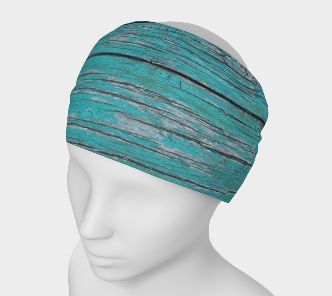 Wood Knot in Turquoise Headband preview #1