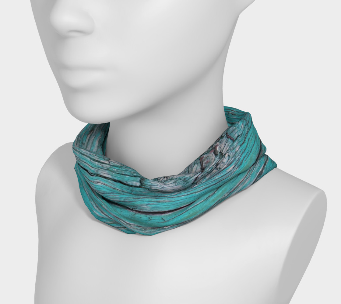 Wood Knot in Turquoise Headband preview #3