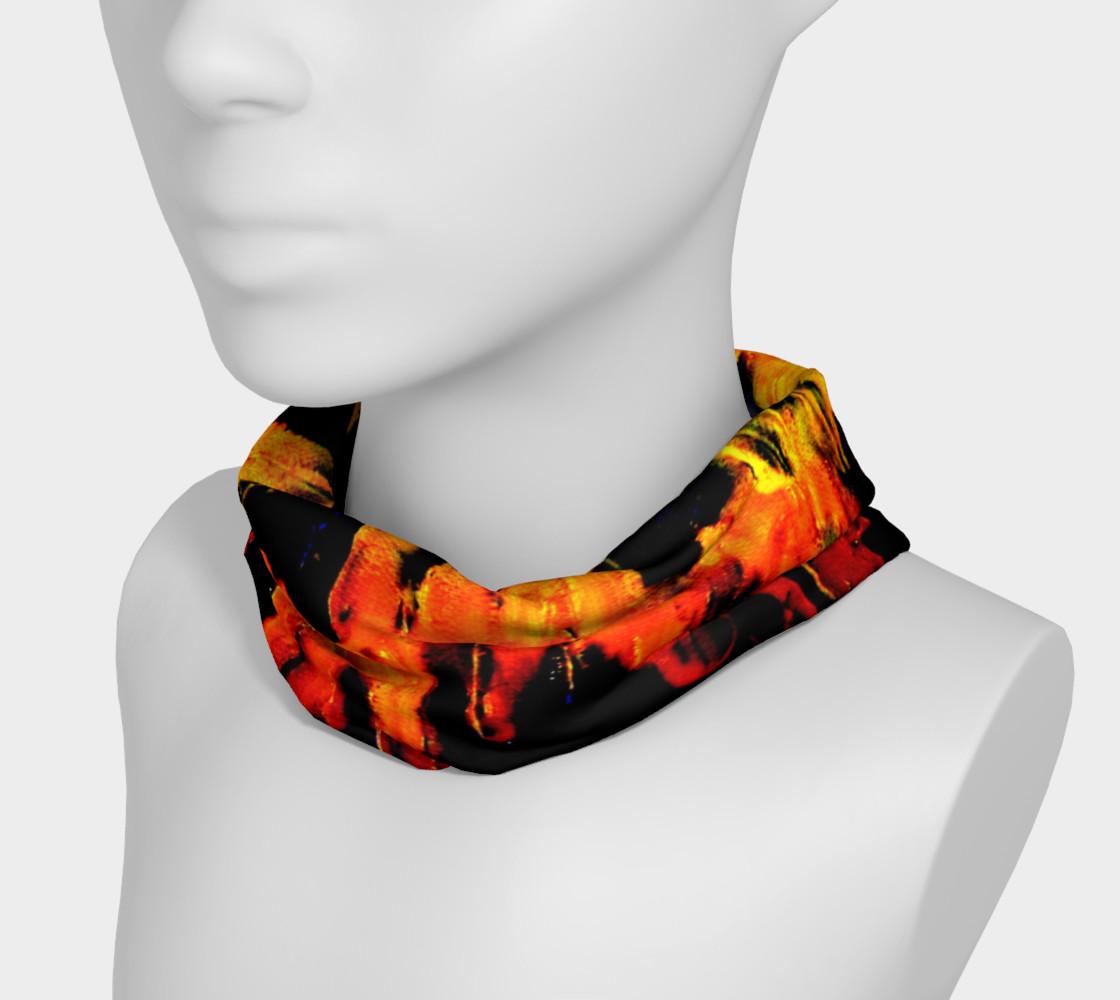 Lava in Black and Orange Headband preview #3