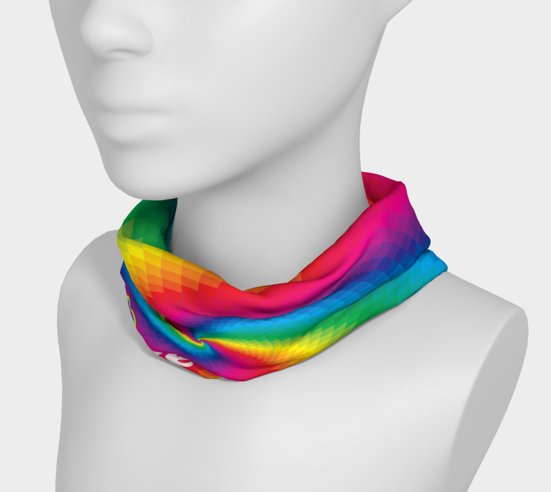 Love wins rainbow headband preview #3