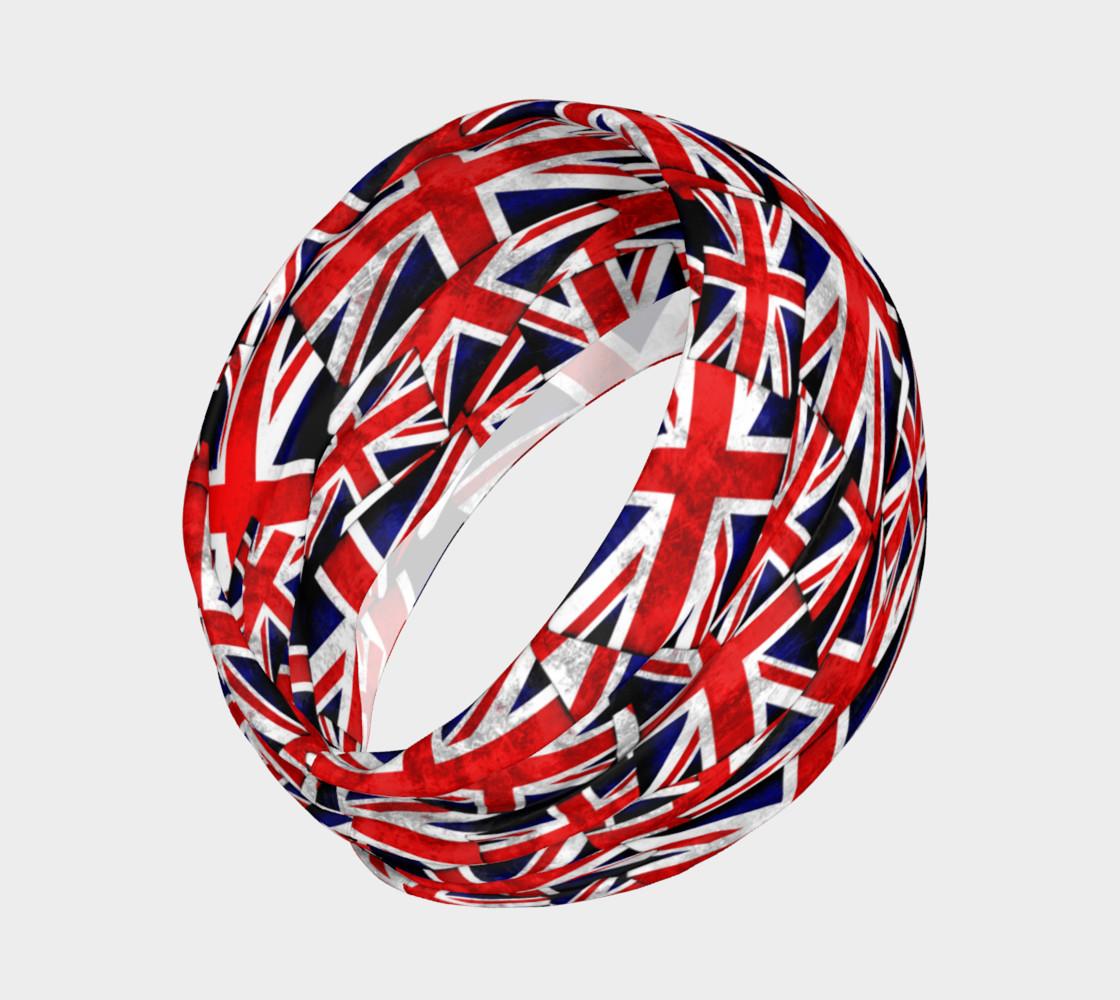 Magic Headband,Unisexe /Él/égant Union Jack Drapeau Britannique Au Royaume-Uni /À S/échage Rapide Chapeaux En Microfibre En Plein Air Bandana Magique Cou Gaiter T/ête Wrap Bandeau /Écharpe Masque De Vi