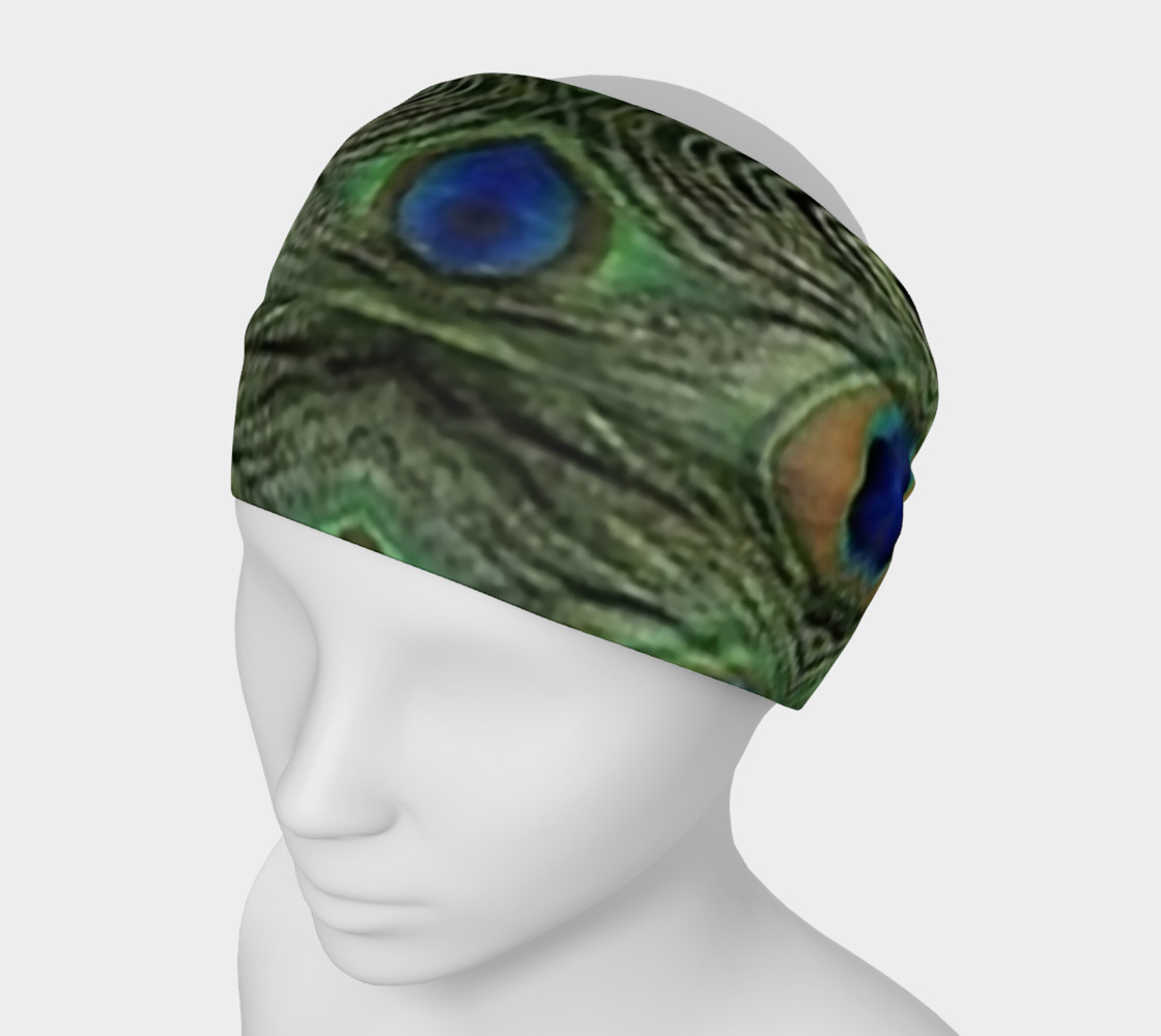 Peacock 1 Headband 3D preview