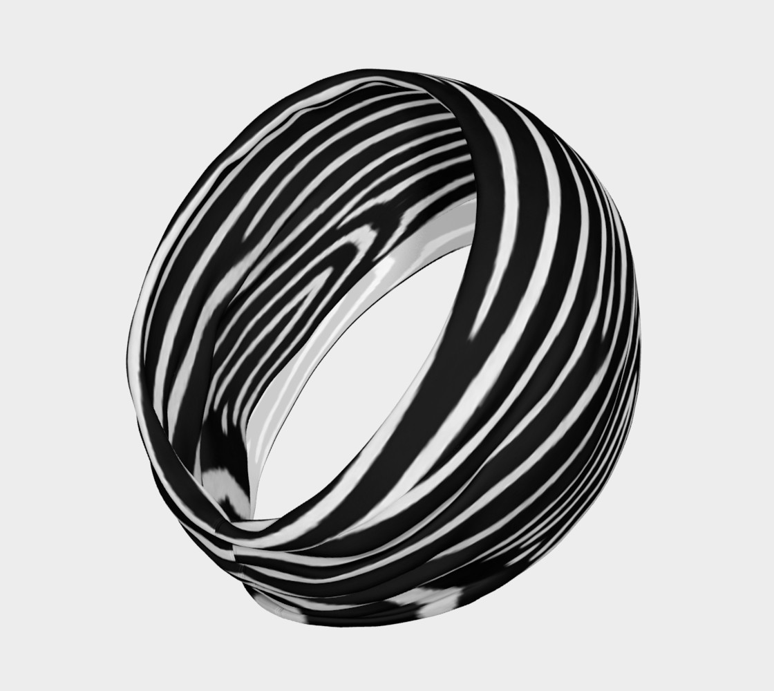 Zebra Headband preview #2