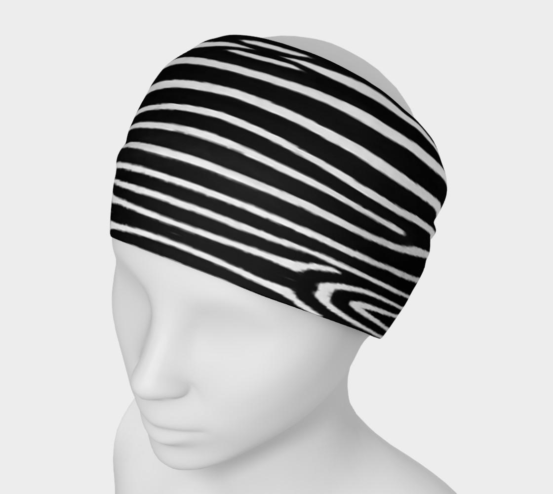 Zebra Headband preview #1