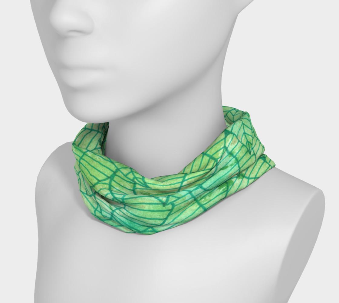 Aperçu de Green foliage Headband #3