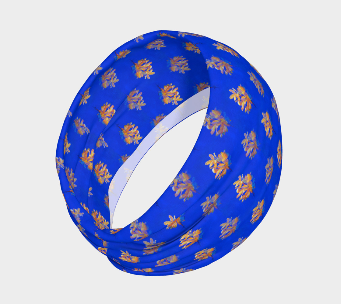 Forsythia at Noon in Royal Blue Headband preview #2