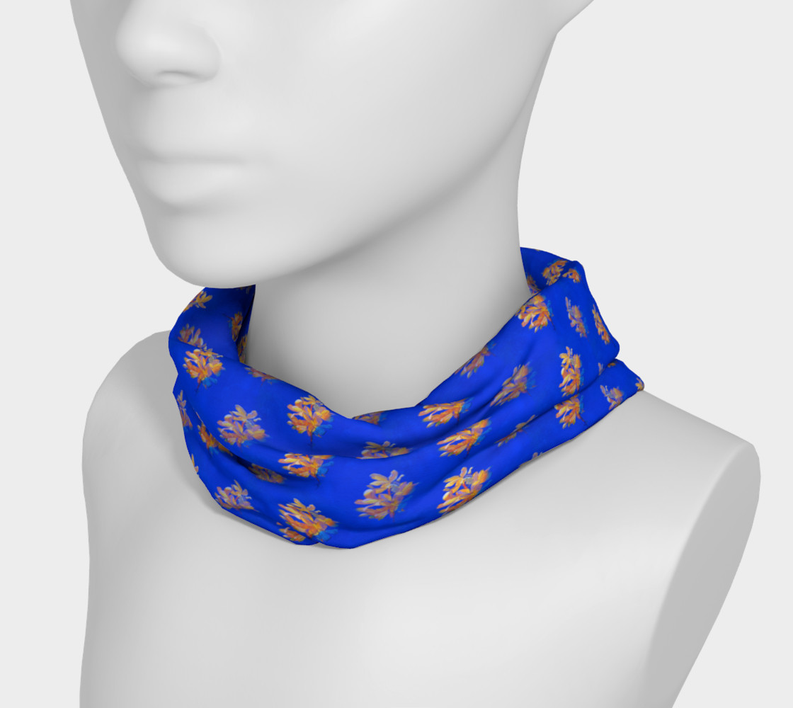 Forsythia at Noon in Royal Blue Headband preview #3