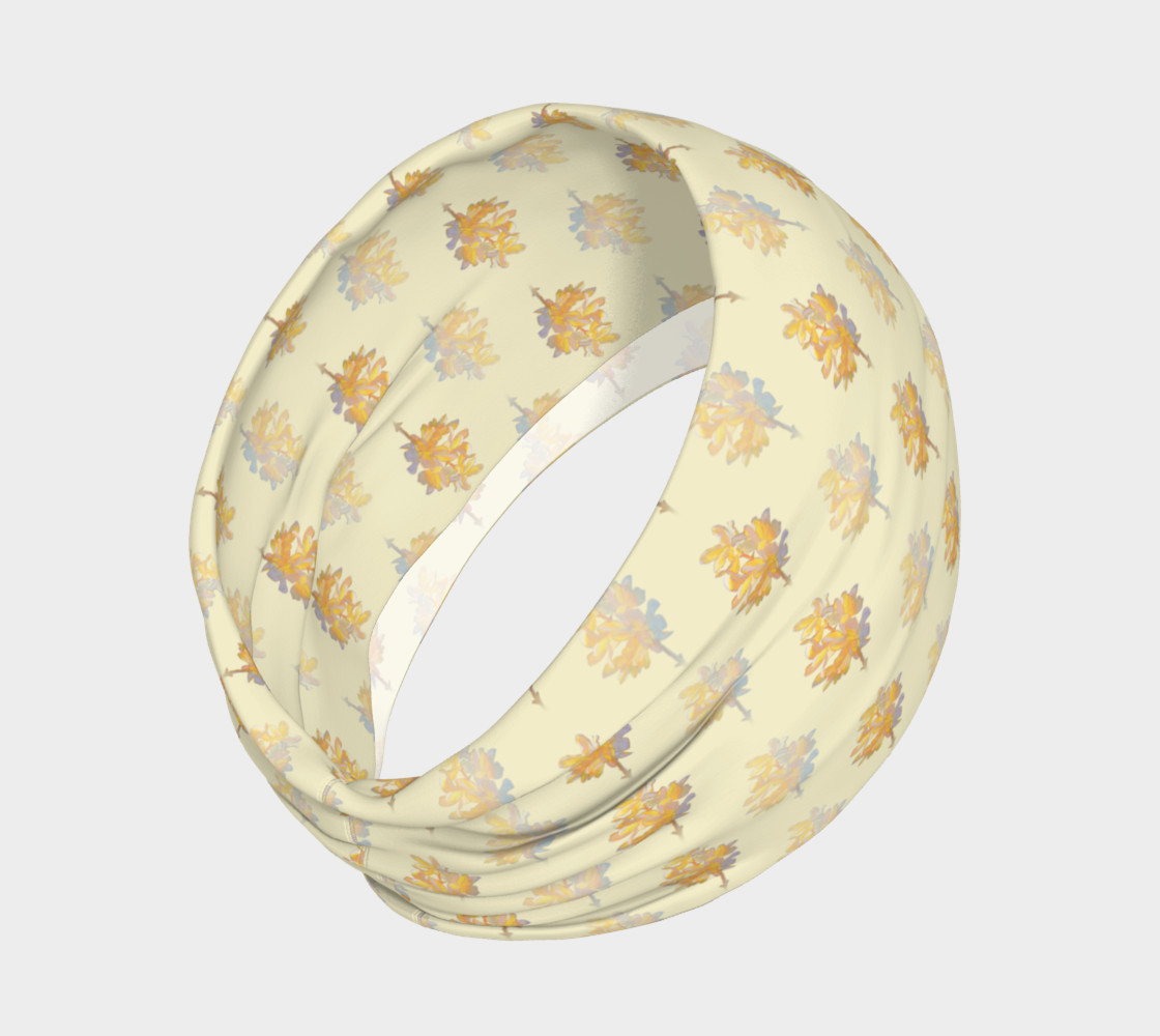 Forsythia at Noon in Buttercream Headband preview #2