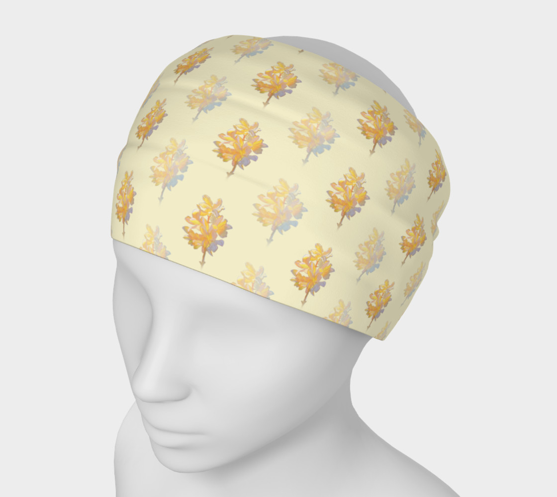 Forsythia at Noon in Buttercream Headband preview #1