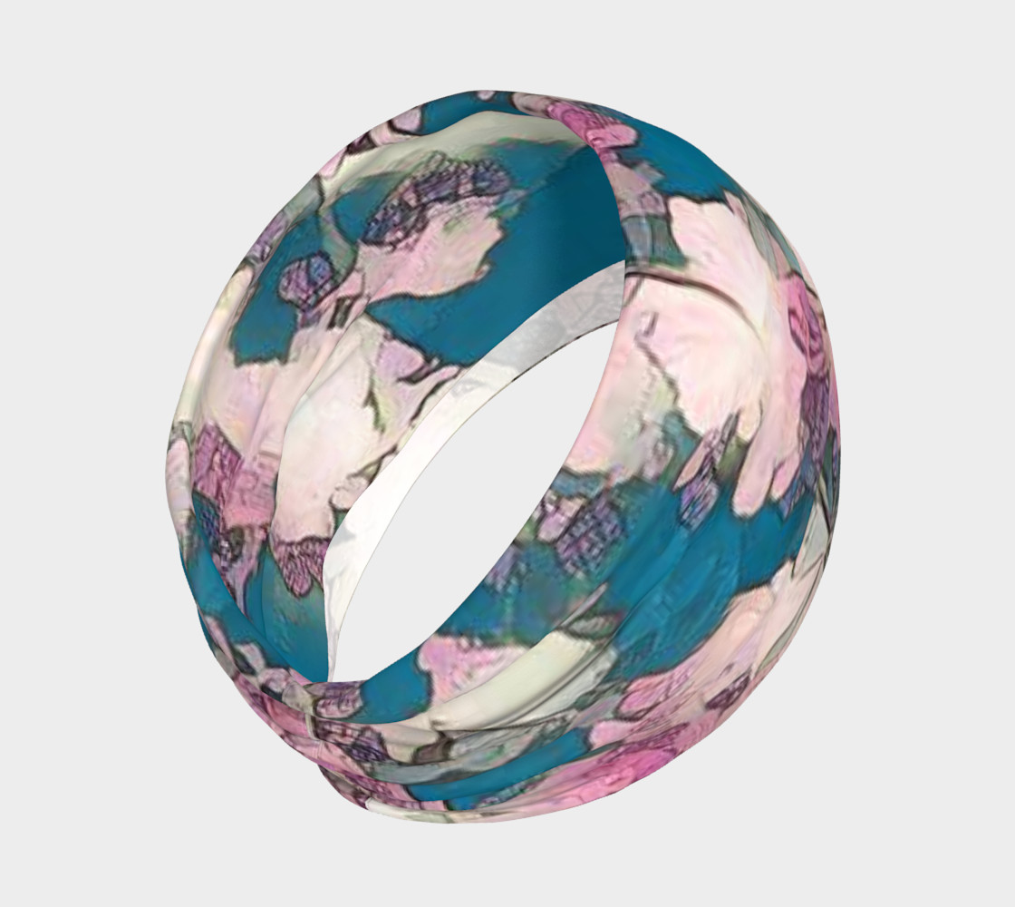 blue and pink head band preview #2