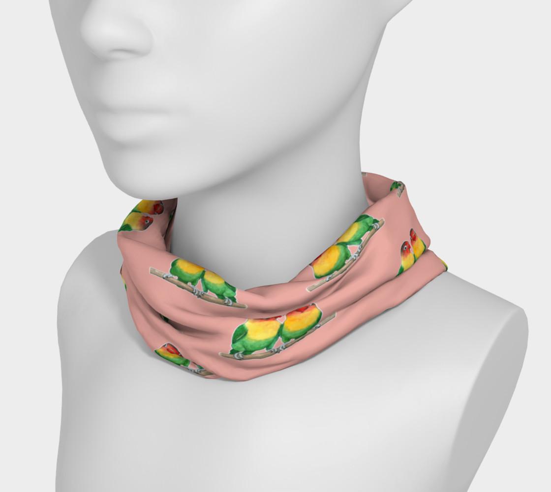 Aperçu de Fischer's lovebirds pattern Headband #3