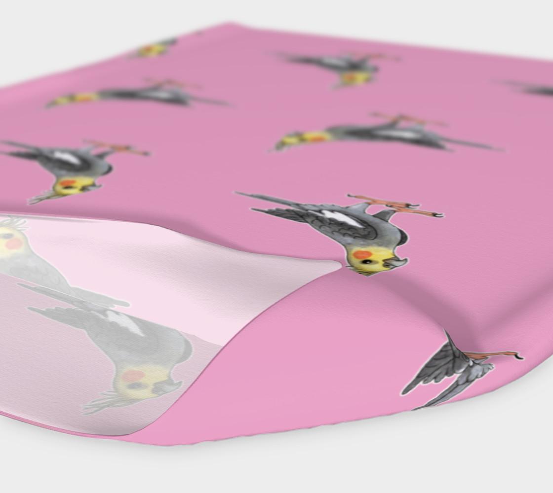 Cockateel birds pattern Headband preview #4