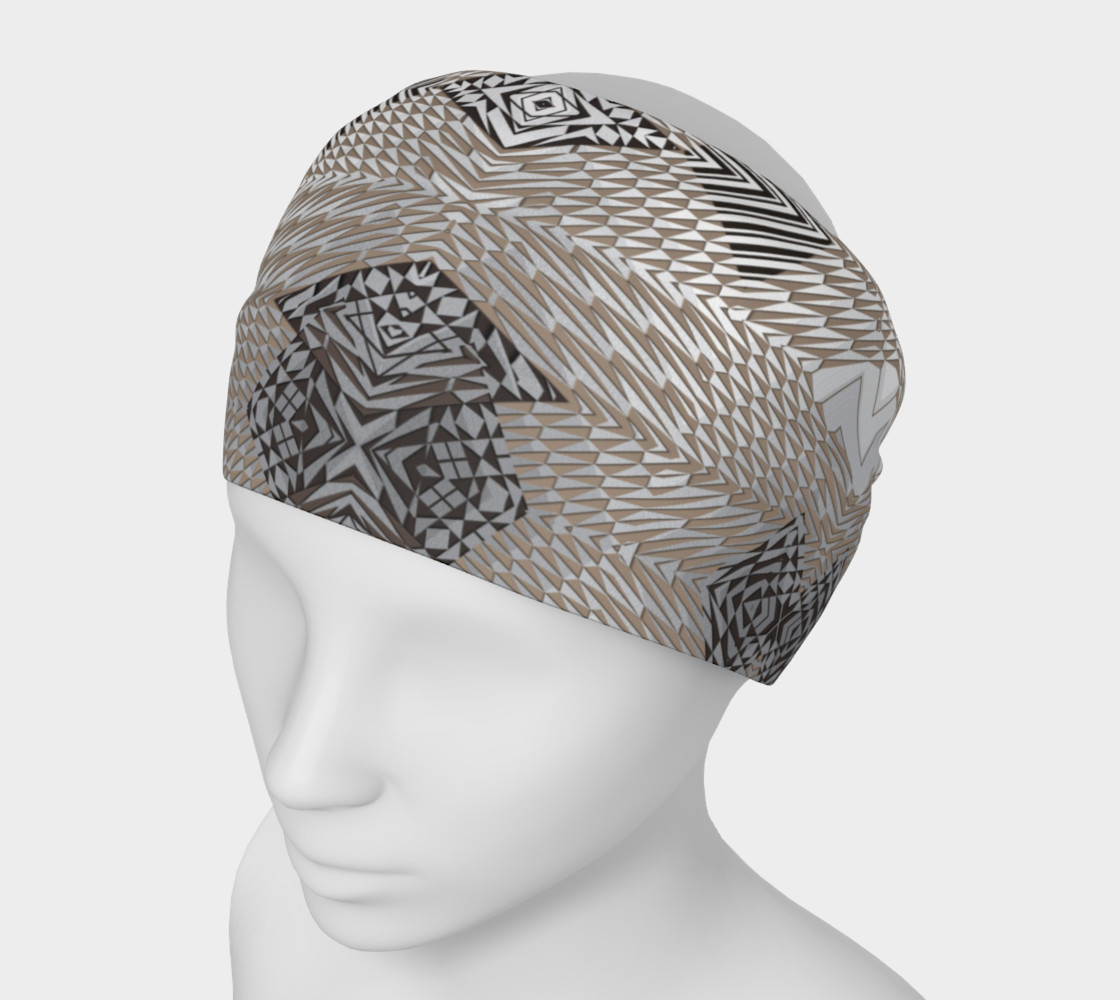 Aperçu de Zebra Weave - Silver B #1
