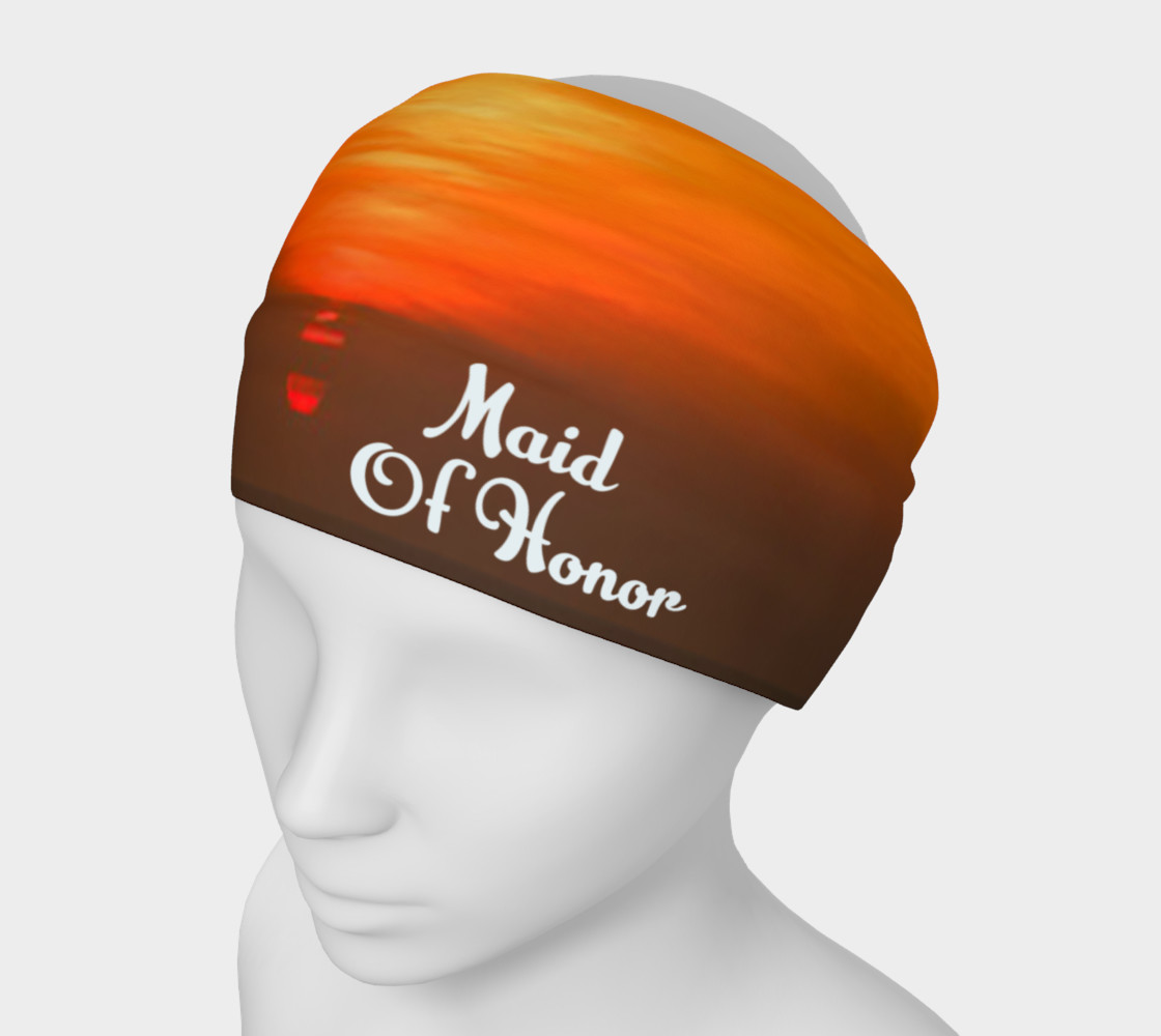 Maid Of Honor Sunset Headband preview #1