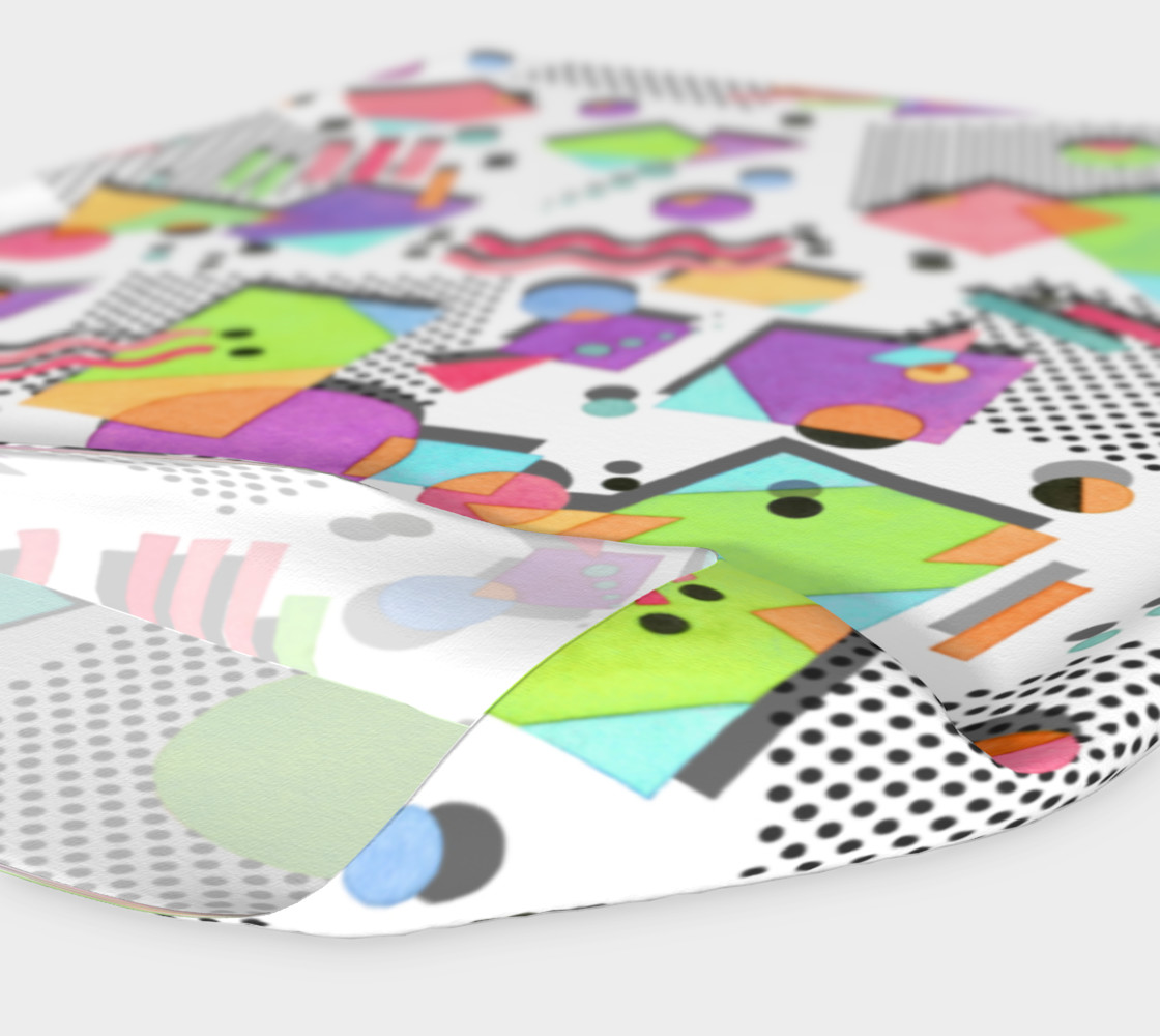 Rad Nineties Geometric Headband 2 preview #4