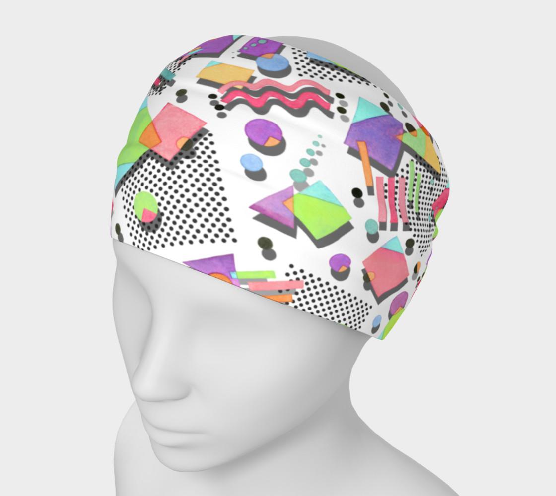Rad Nineties Geometric Headband 2 preview #1