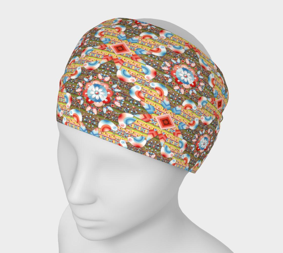 Heraldic Lovebird Headband preview #1