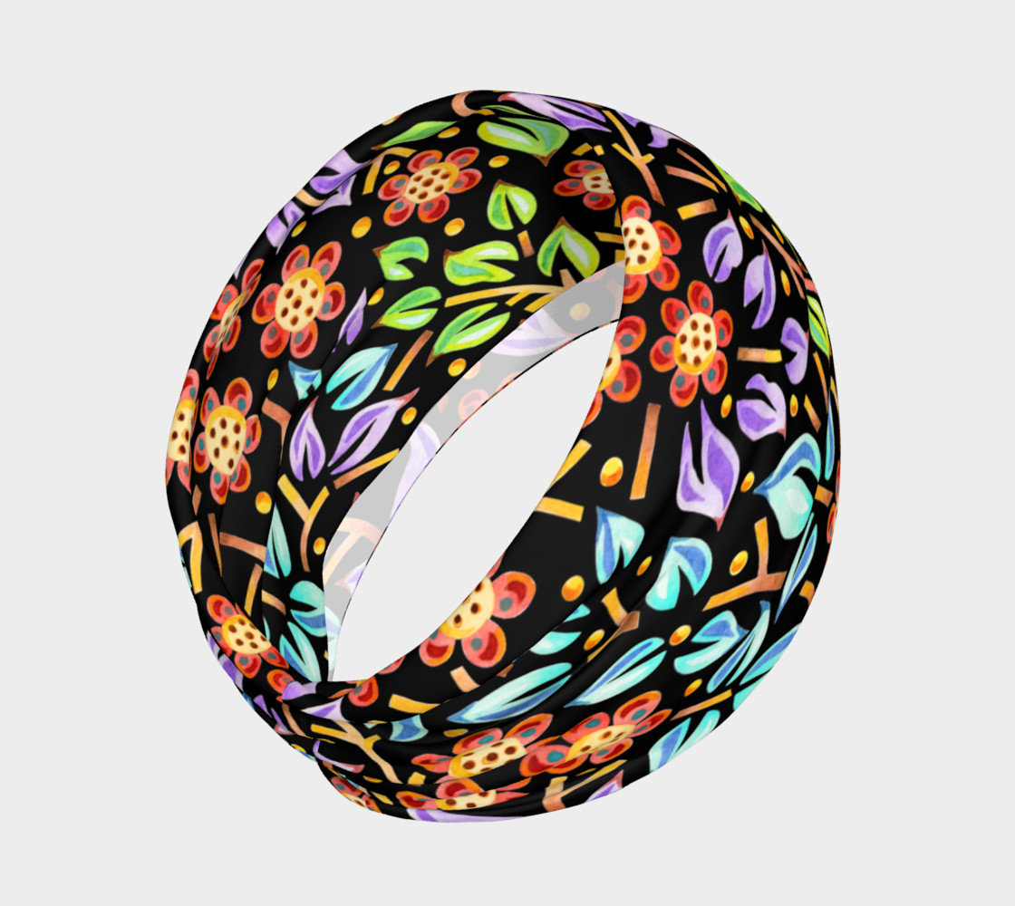 Filigree Floral Headband preview #2