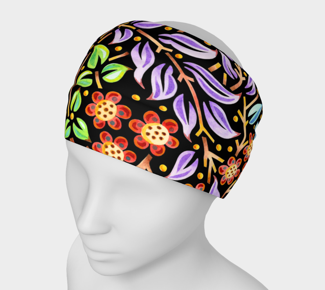 Filigree Floral Headband preview #1