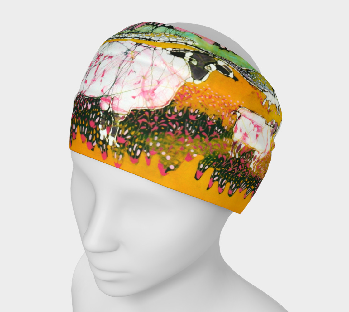 Sheep on a Sunny Summer Day Headband preview #1