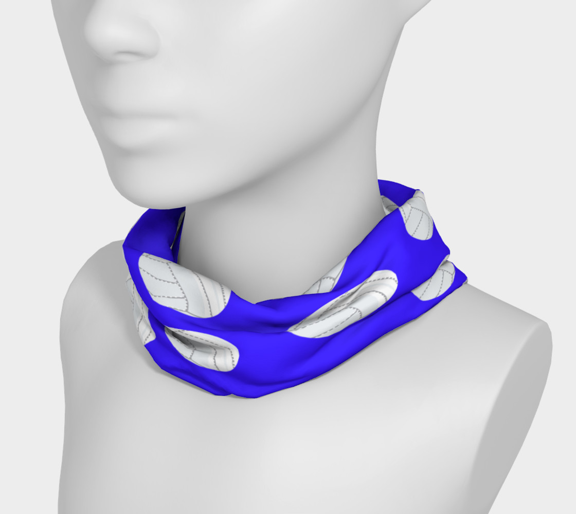 Blue Volleyball Headband preview #3