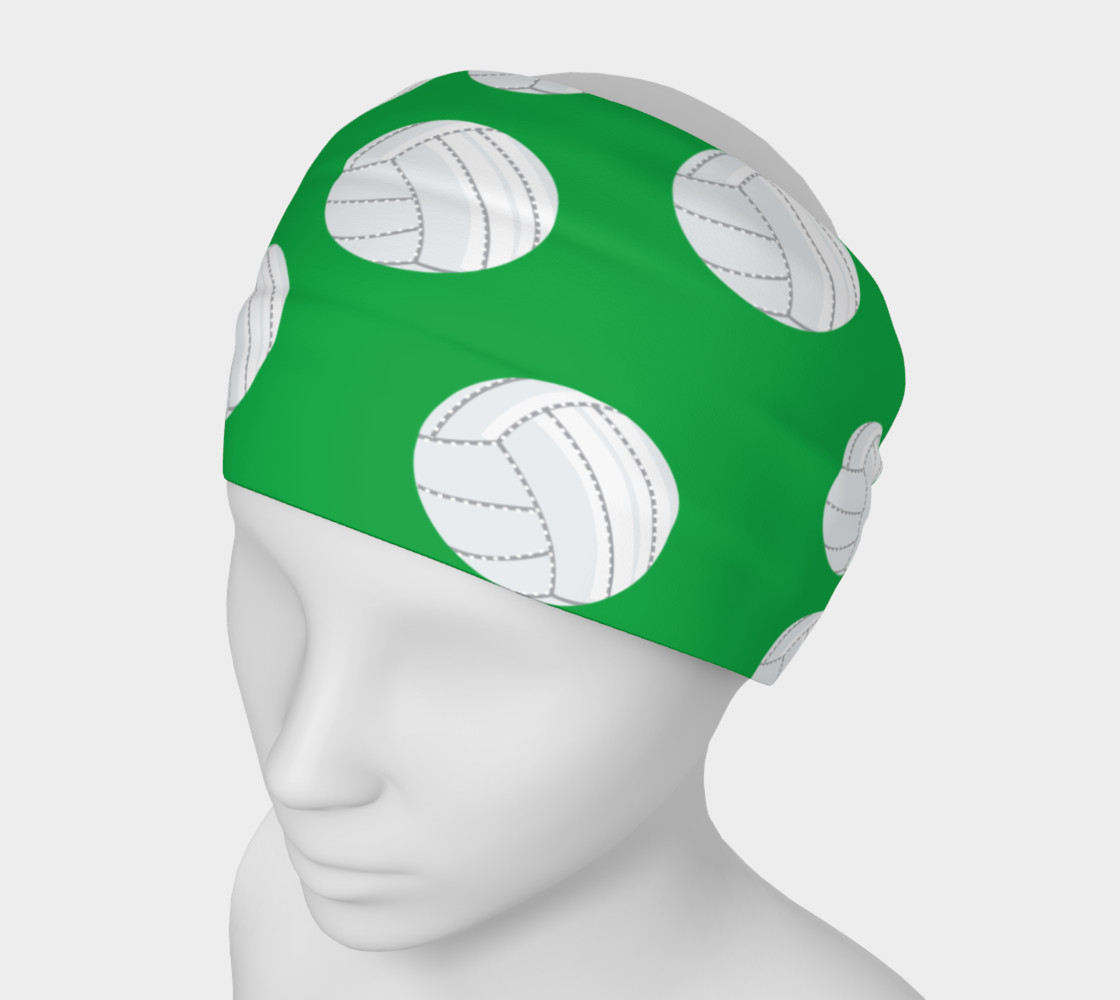 Green Volleyball Headband preview #1