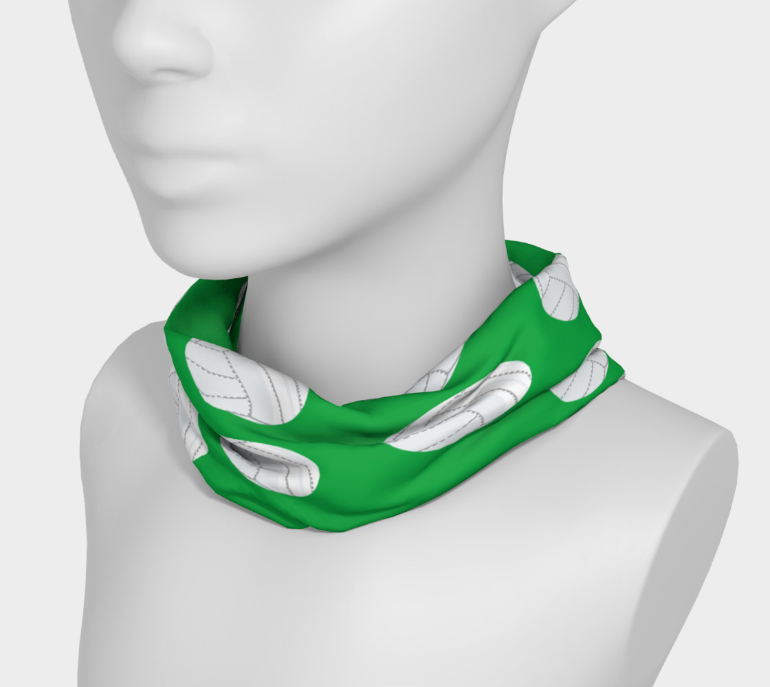 Green Volleyball Headband preview #3