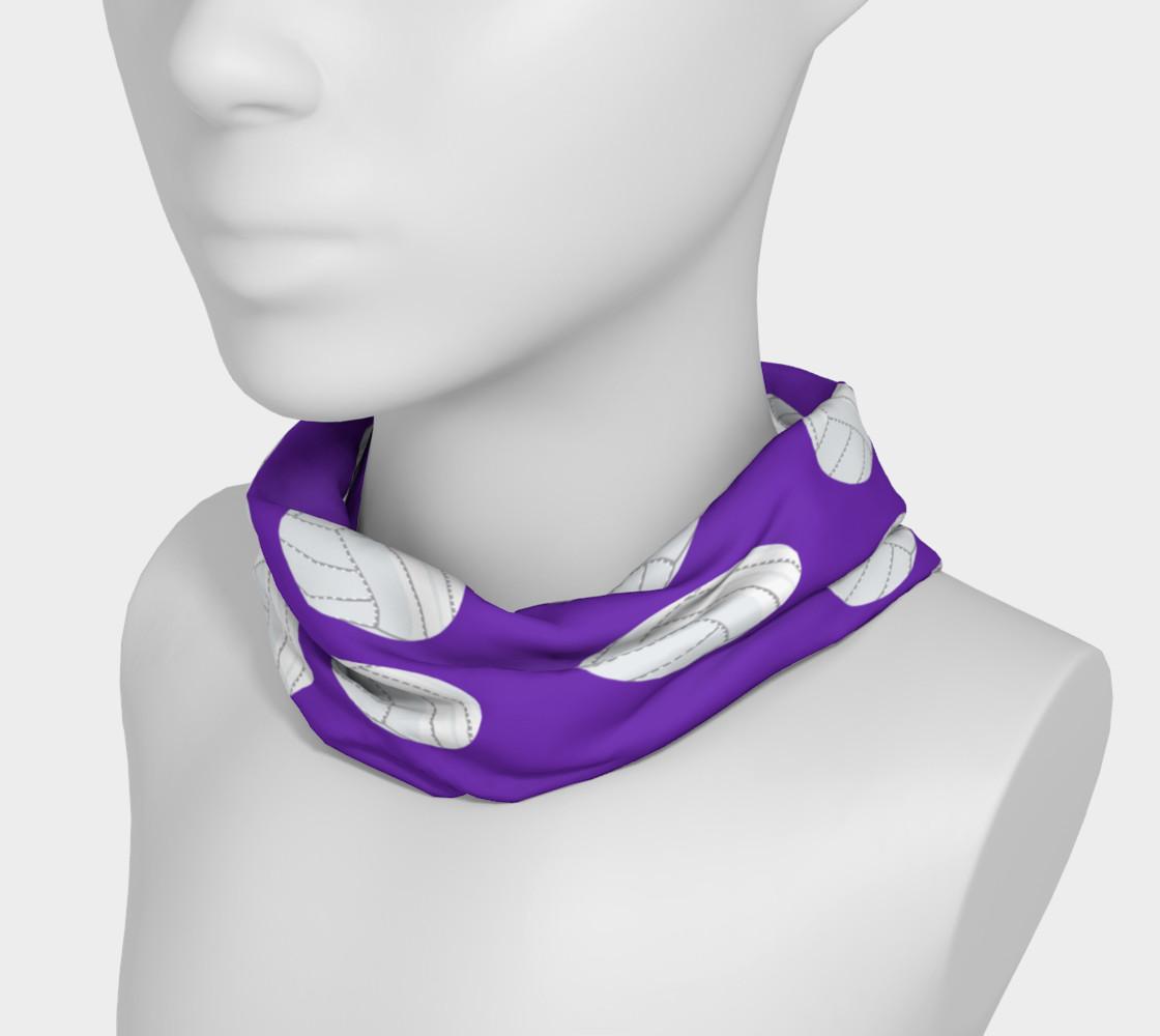 Purple Volleyball Headband preview #3