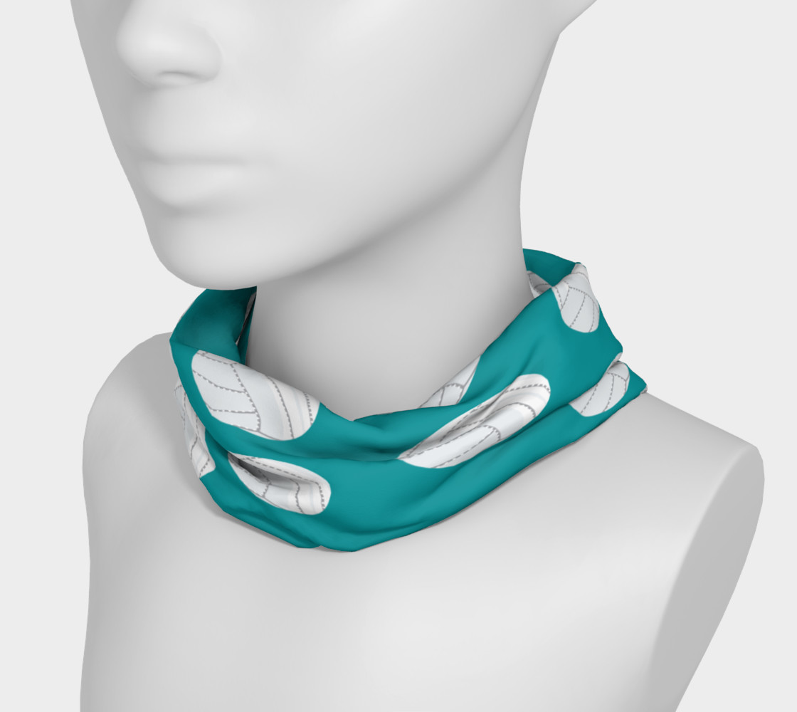 Teal Volleyball Headband preview #3