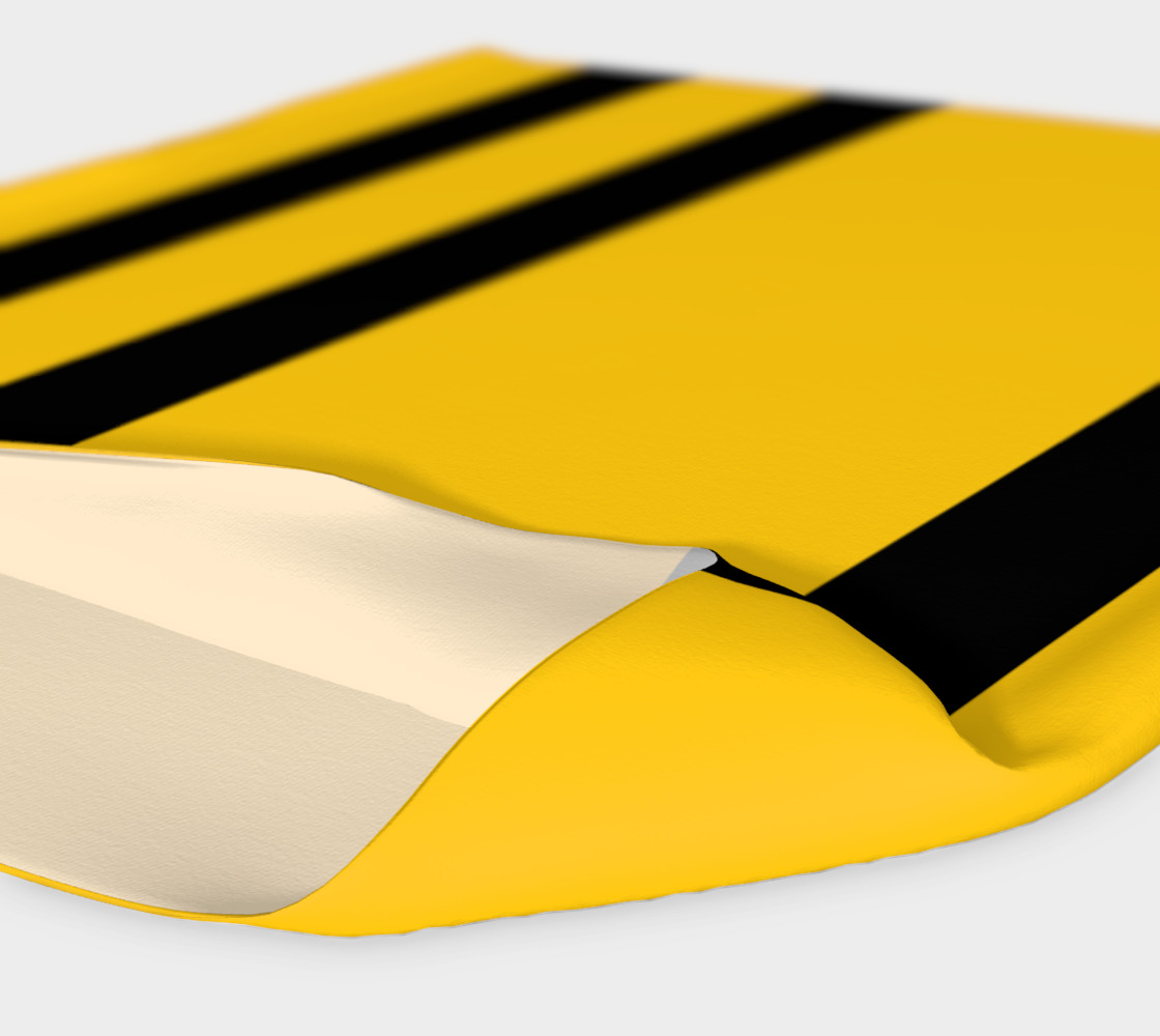 Yinz Black and Yellow Headband preview #4