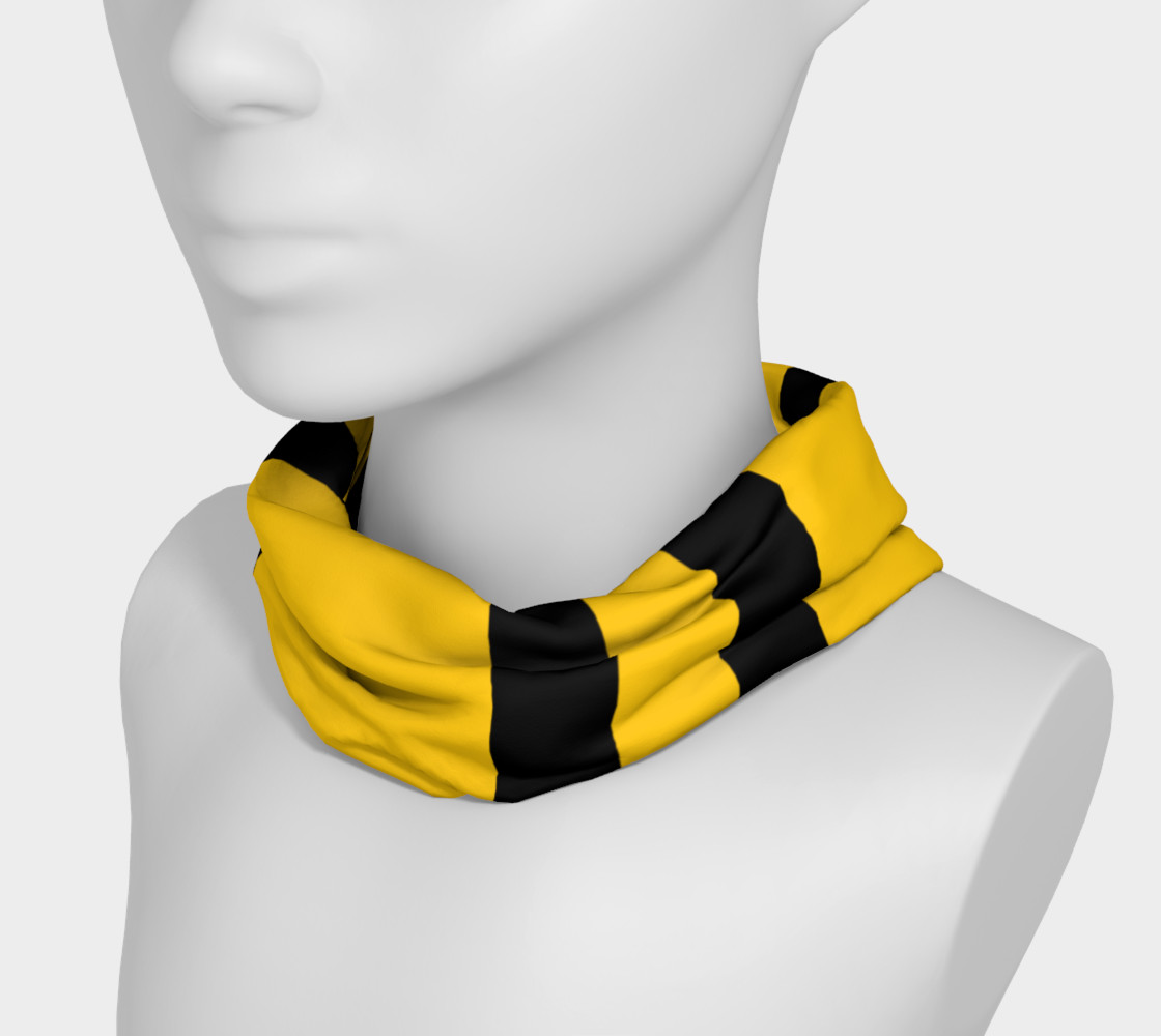 Yinz Black and Yellow Headband preview #3