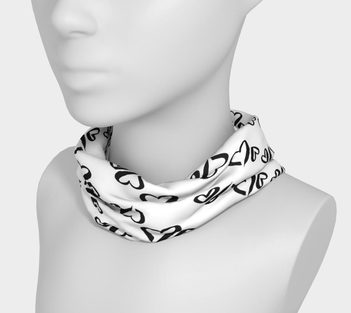 Aperçu de Black Hearts Headband #3