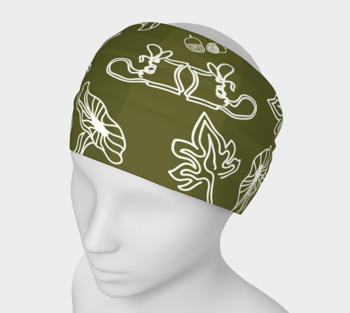 Aperçu de Fall Birch Headband #1