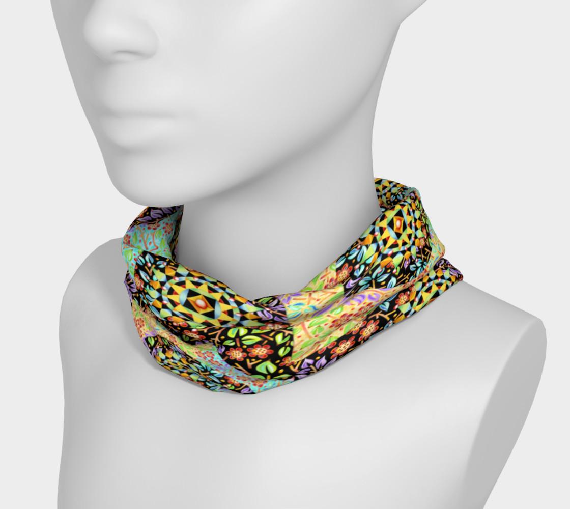 Aperçu de Filgree Floral Patchwork Headband #3