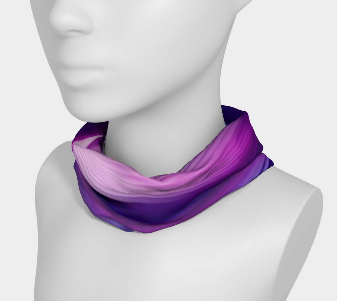 abstract purple headband preview #3