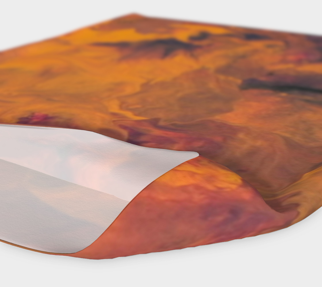 Sunset Flowers Headband preview #4