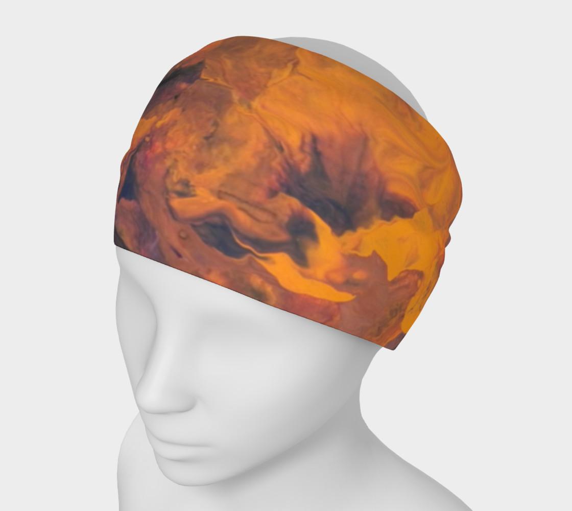 Sunset Flowers Headband preview #1
