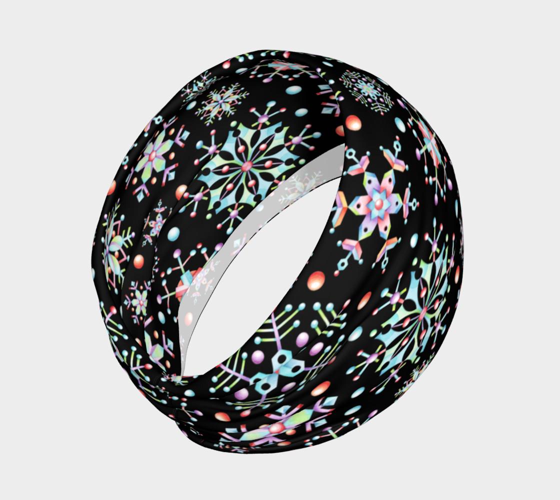 Aperçu de Prismatic Snowflakes Headband #2