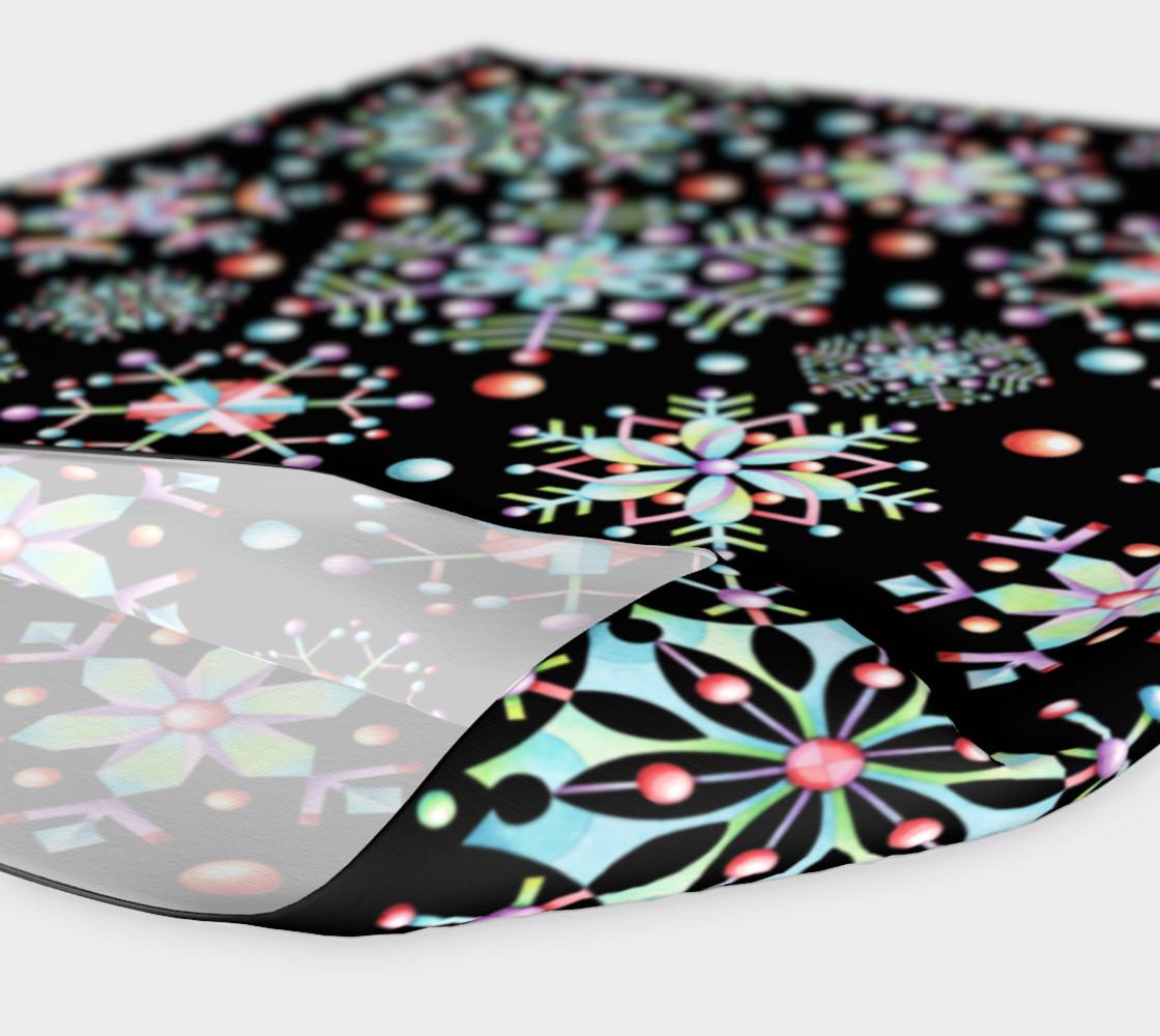 Aperçu de Prismatic Snowflakes Headband #4