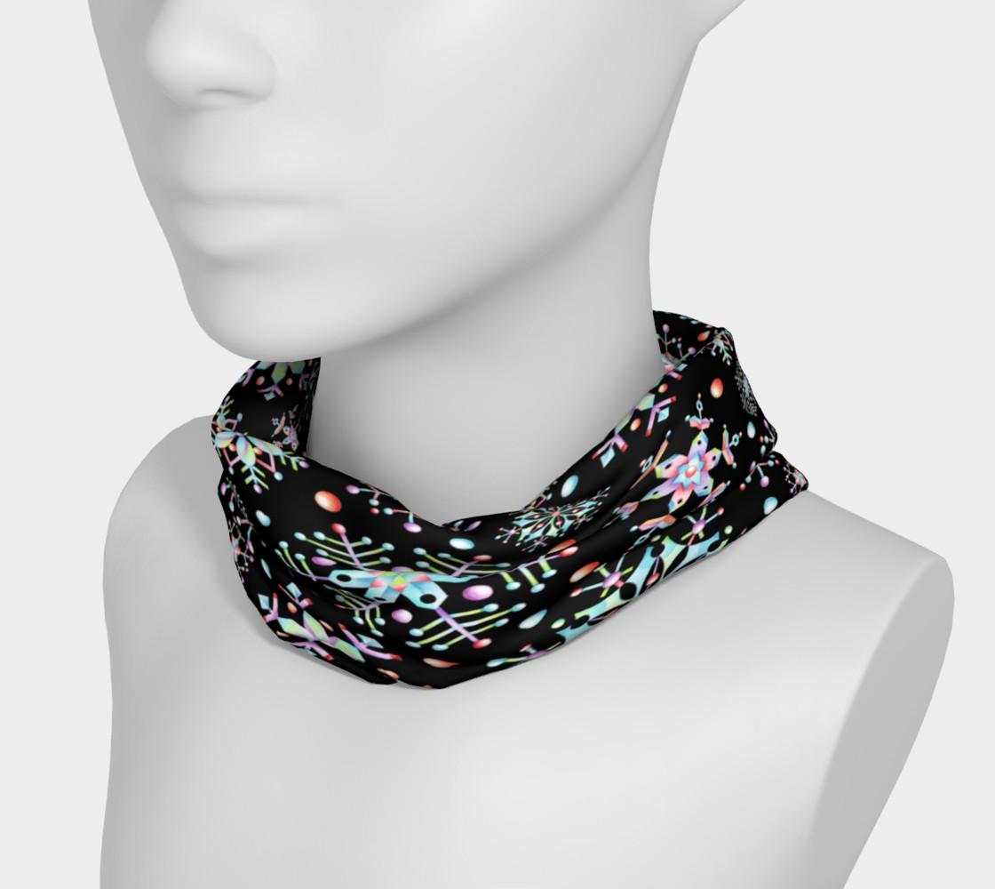 Aperçu de Prismatic Snowflakes Headband #3