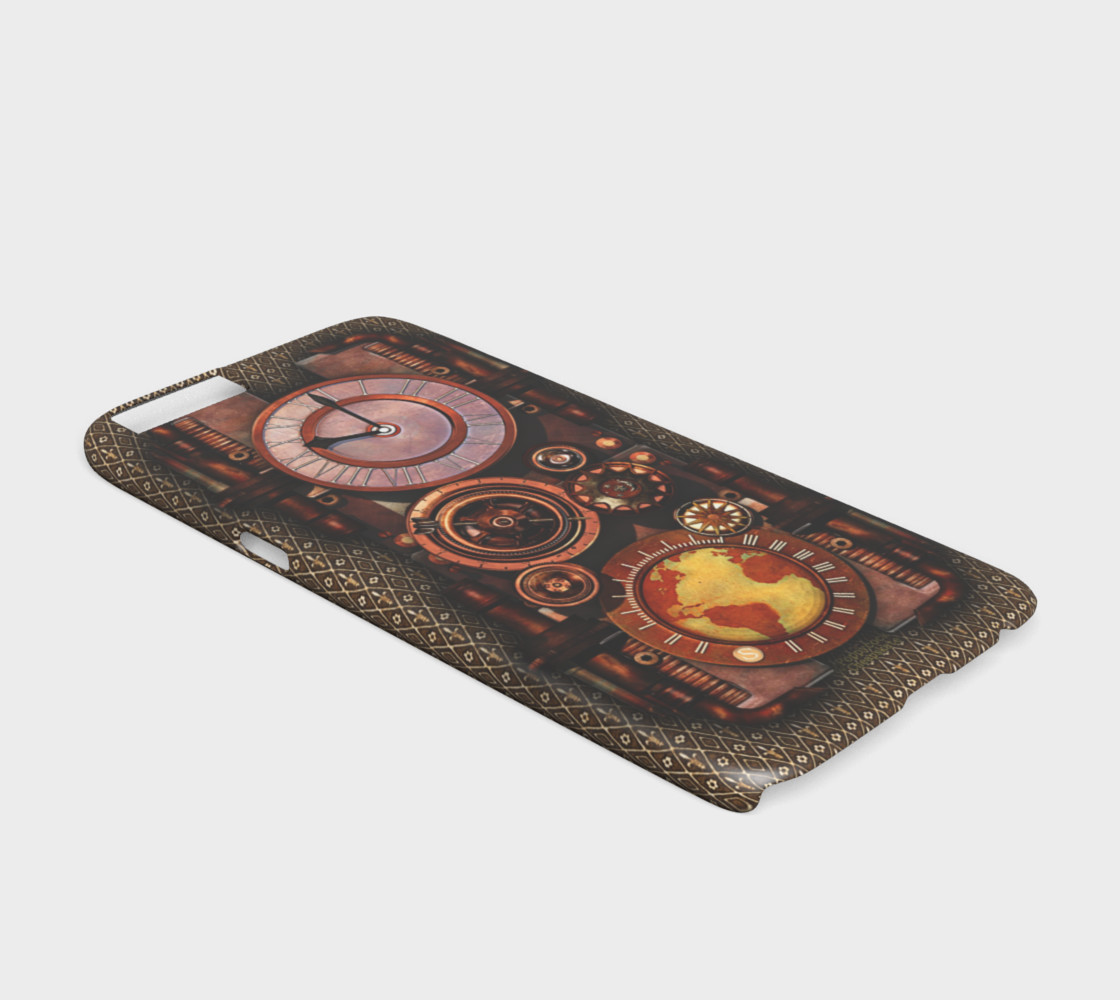 Infernal Steampunk Timepiece iPhone 6/6S Cases preview #2